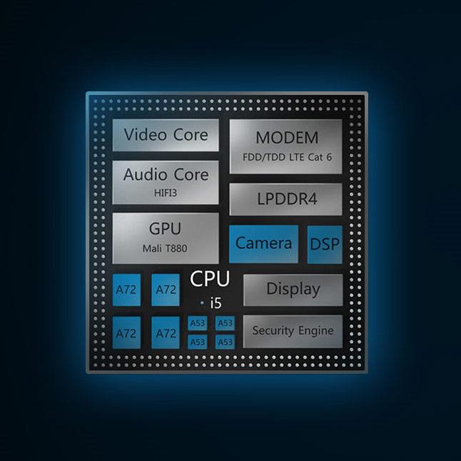 Шестидюймовый дисплей Mate 8 имеет разрешение Full HD