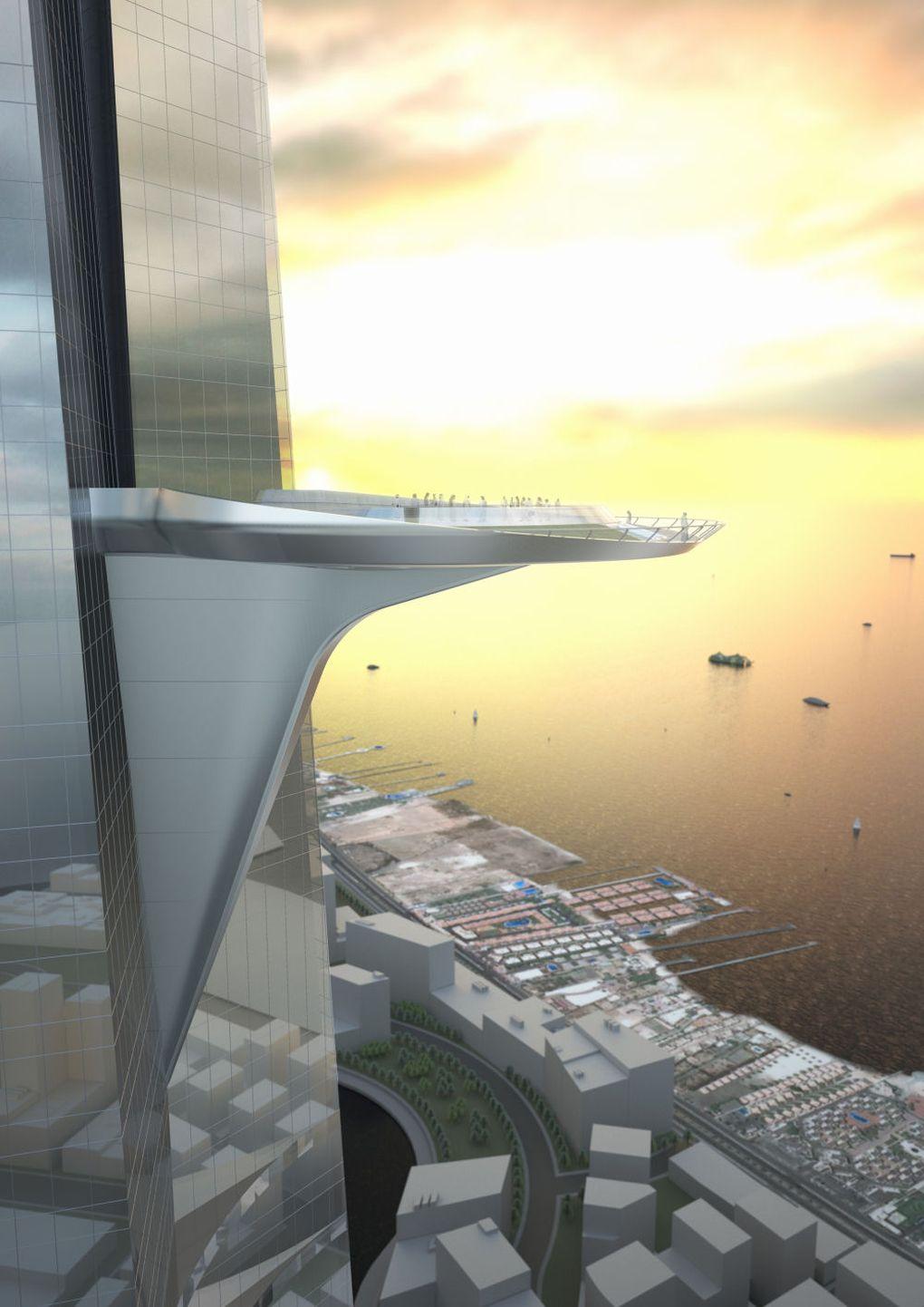 В Саудовской Аравии построят самое высокое здание в мире - 4