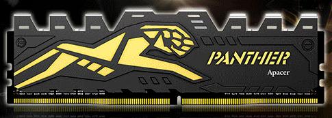 Модули Apacer Panther DDR4 достигнут частоты 2666 МГц, дальнейший разгон станет заботой пользователя
