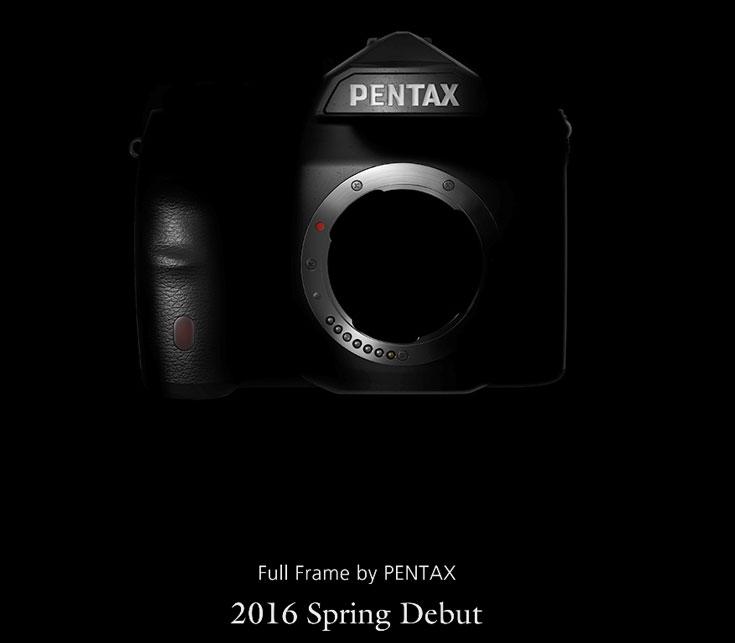 Вероятнее всего, в камере полнокадровой зеркальной камере Pentax будет использоваться датчик изображения производства Sony
