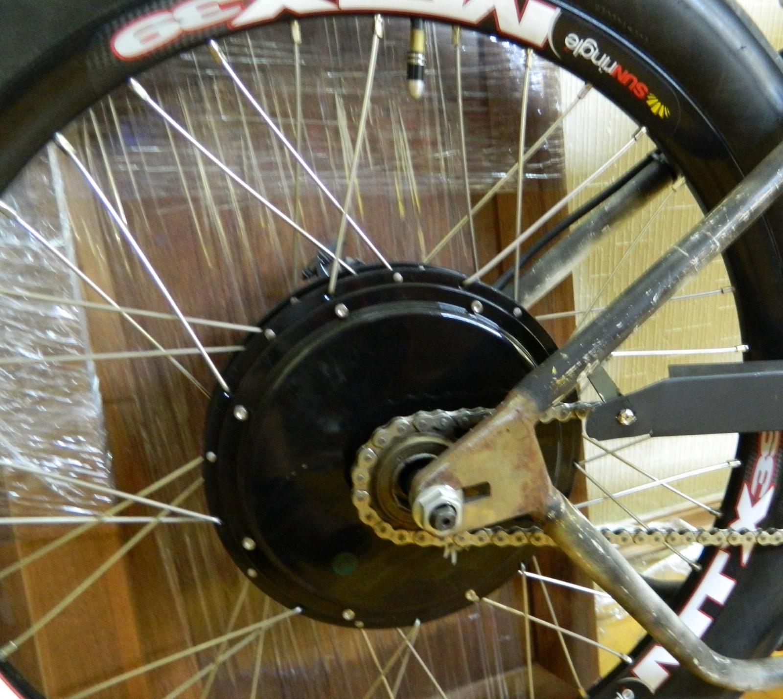 Как я строил бюджетный электро-вело чоппер - 3