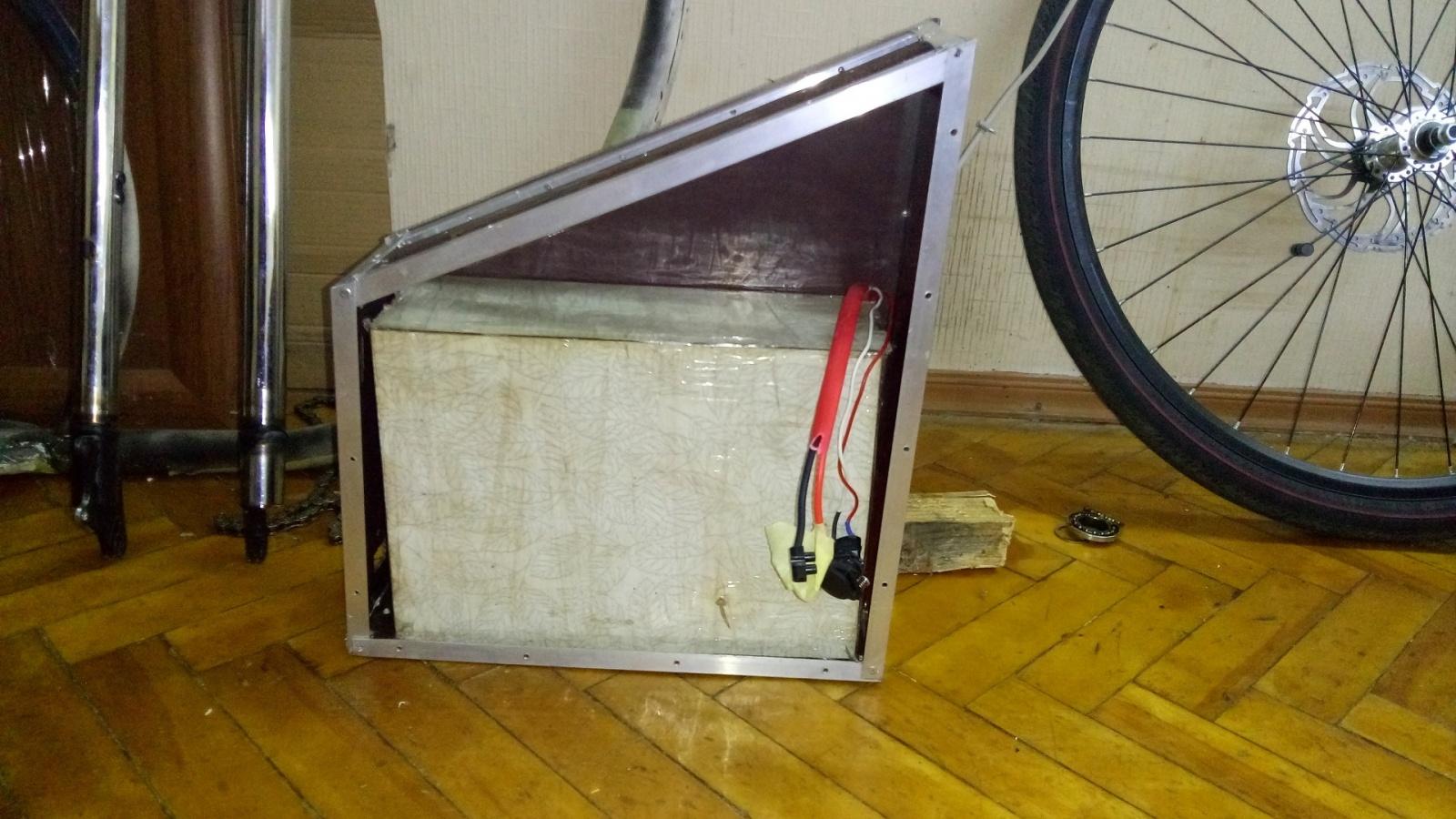 Как я строил бюджетный электро-вело чоппер - 4