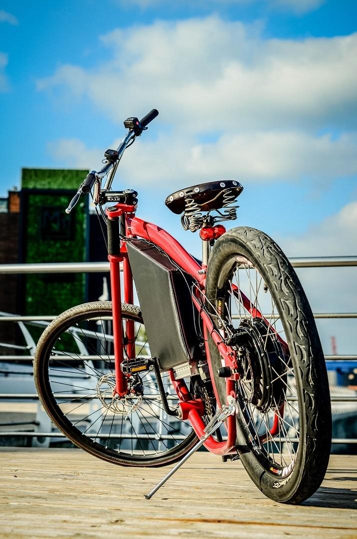 Как я строил бюджетный электро-вело чоппер - 7