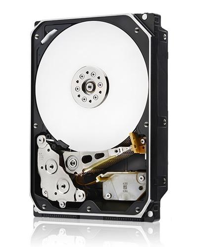 Ultrastar He10 потребляет на 54% меньше мощности, чем жесткие диски PMR, заполняемые воздухом