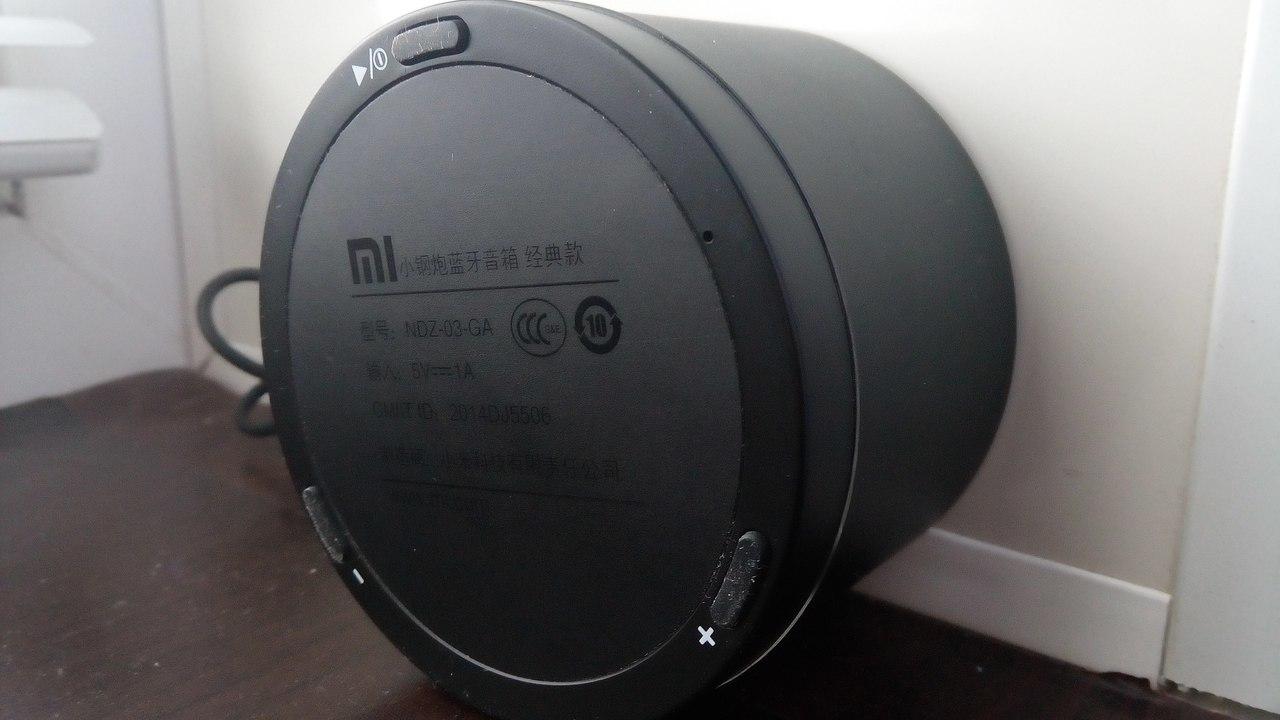 Возьми музыку с собой или портативная колонка Xiaomi Little Cannon - 6