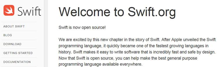 Открывая исходный код языка Swift, Apple рассчитывает привлечь разработчиков к его улучшению