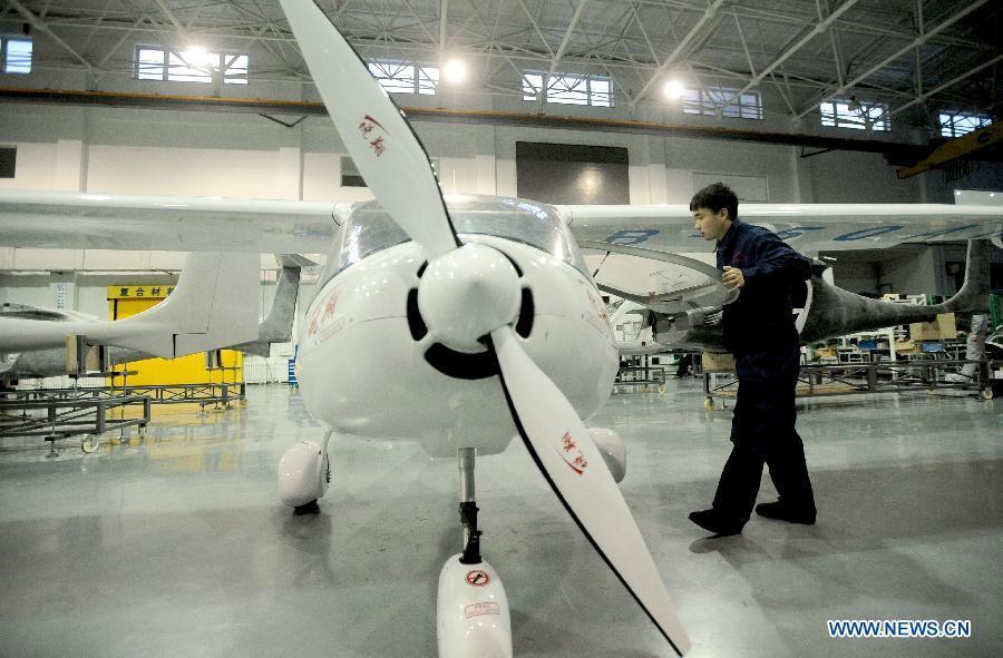 Первый в Китае электросамолет получил лицензию на производство - 1