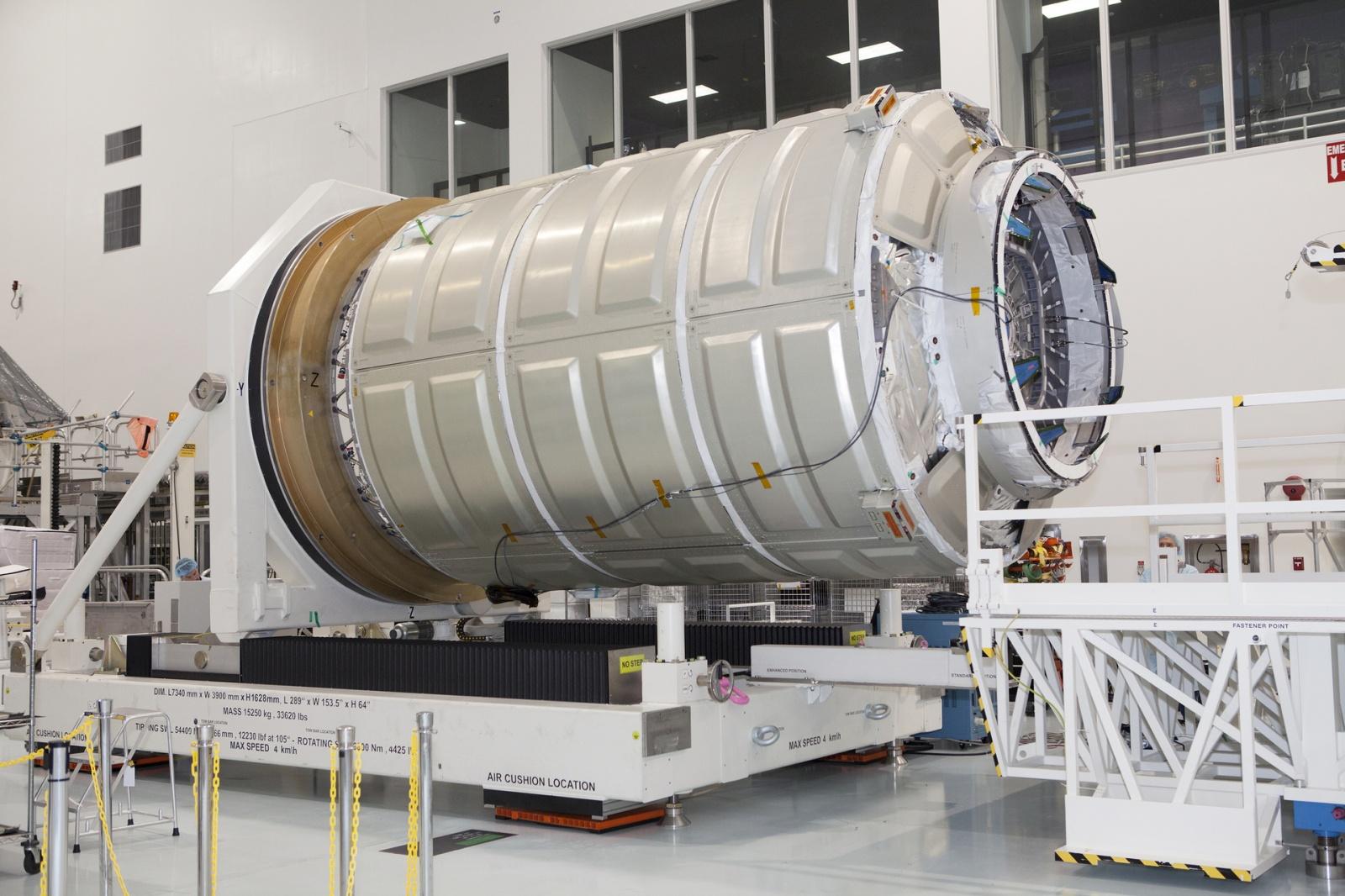 [Старт отложен] Запуск космического грузовика Cygnus Orb-4 к МКС намечен на 01:55 - 2