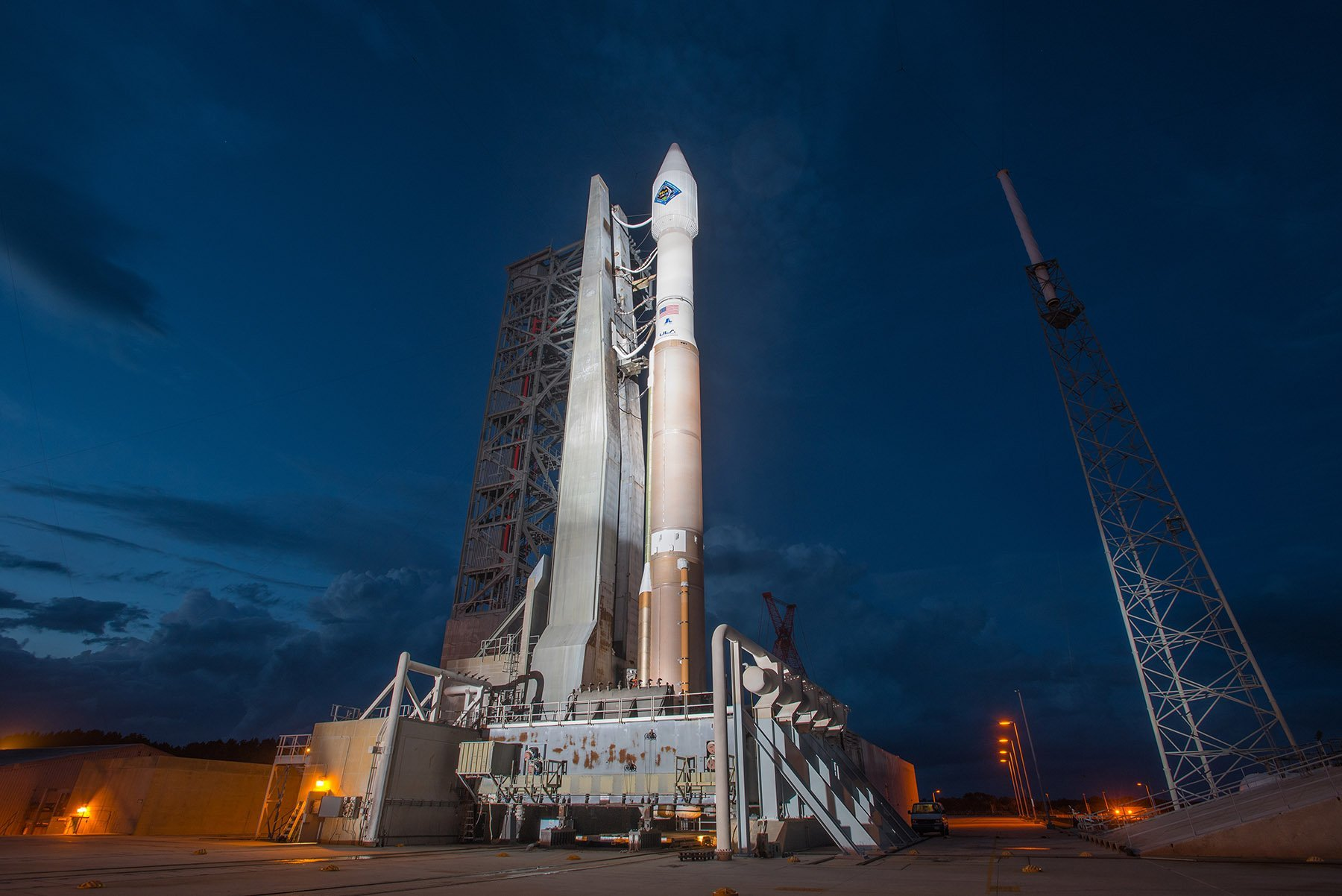 [Старт отложен] Запуск космического грузовика Cygnus Orb-4 к МКС намечен на 01:55 - 3