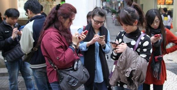 В Китае насчитывается более 1,3 млрд пользователей мобильной связи
