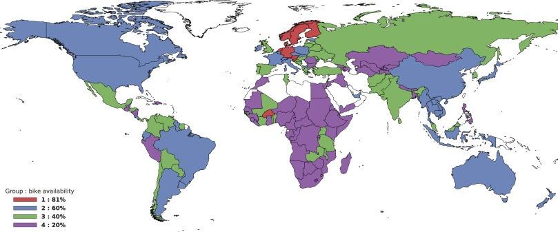 За последние 30 лет количество велосипедов в мире упало в 2 раза — даже без учёта Индии и Китая - 2