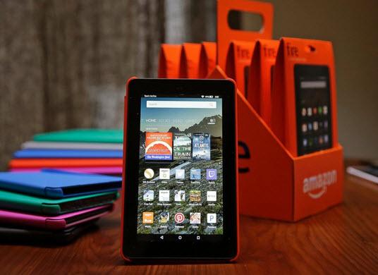 Amazon выпустила обновление для планшетов Fire, которое делает ночное чтение более комфортным