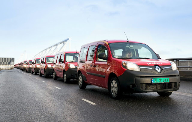 Пример для подражания: даже почтальоны в Норвегии будут передвигаться на электромобилях - 1