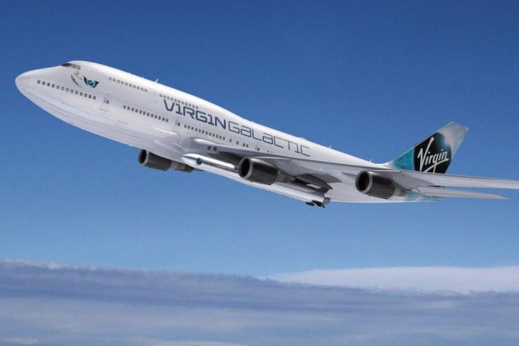 Virgin Galactic намерена использовать в своих программах самолёт Boeing 747