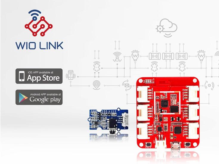 Основой модуля Wio Link служит контроллер ESP8266