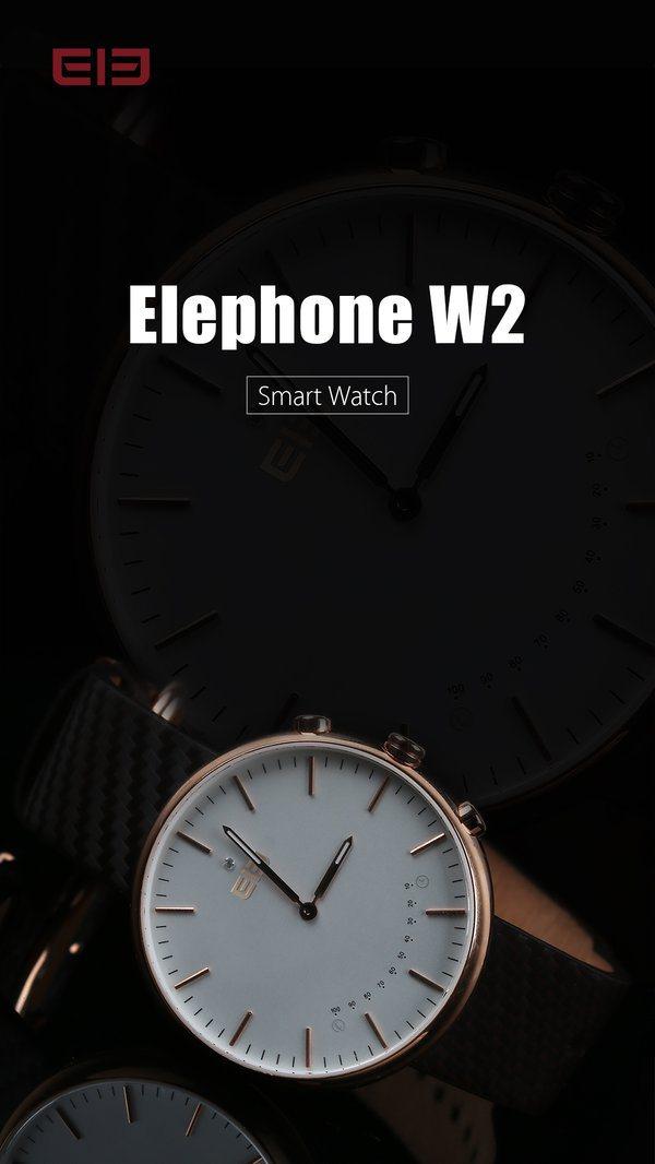 Elephone готовит еще одни умные часы