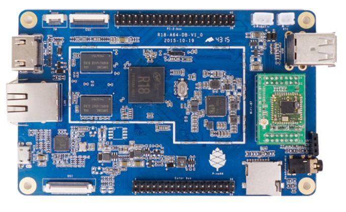 ПК Pine64 может оснащаться 1 ГБ ОЗУ