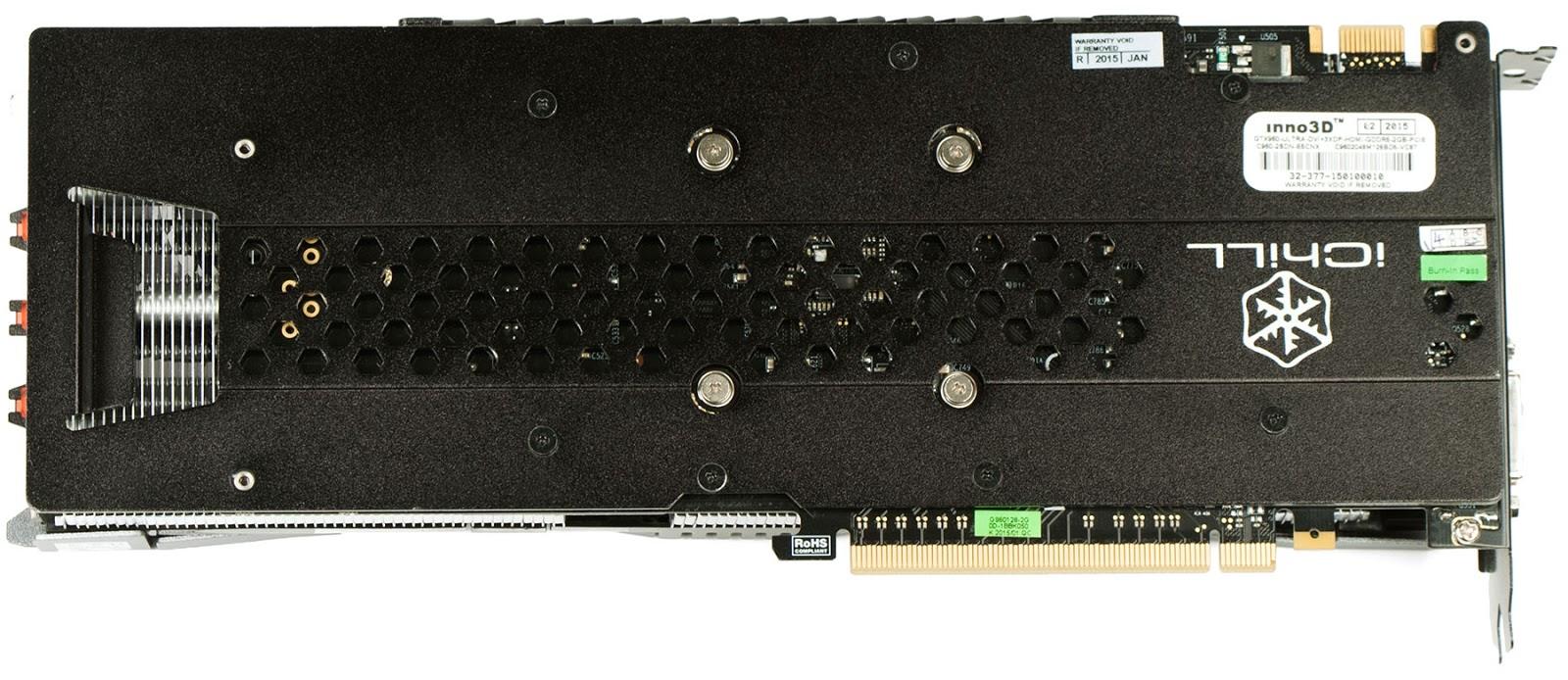 Обзор игровой видеокарты Inno3D iChill GeForce GTX 960 Ultra (C960-2SDN-E5CNX) - 3