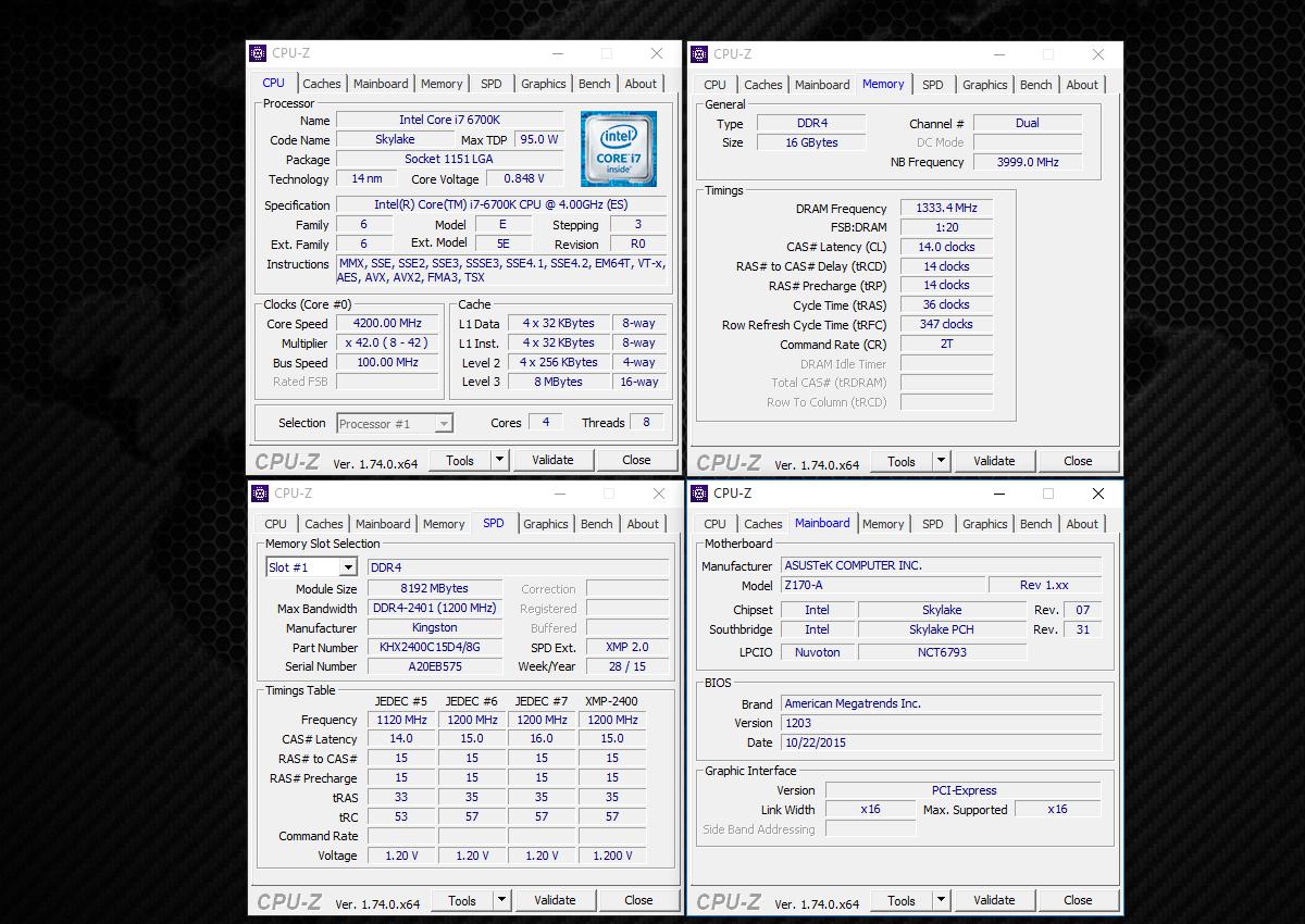 Обзор комплекта оперативной памяти HyperX Fury DDR4-2400 16 Gb (2*8 Gb) - 5