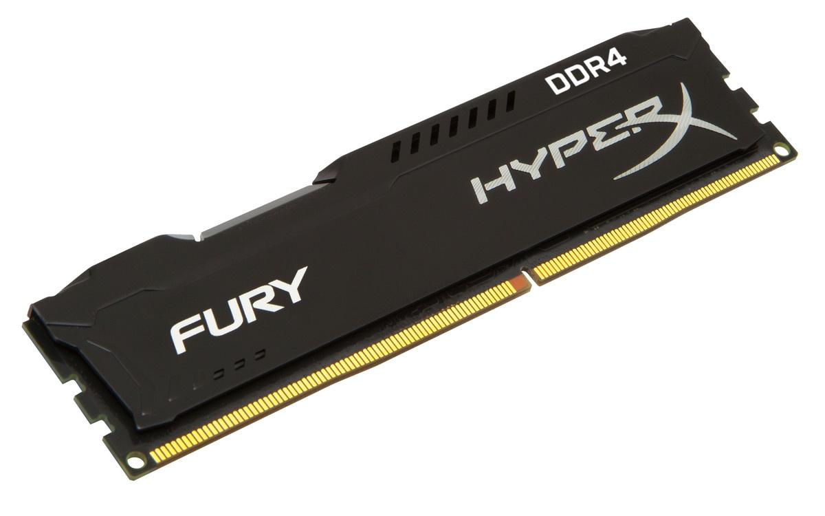 Обзор комплекта оперативной памяти HyperX Fury DDR4-2400 16 Gb (2*8 Gb) - 1