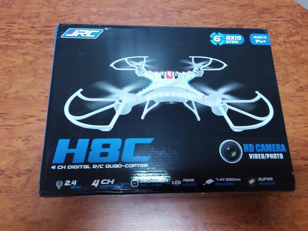 Отличный квадрокоптер менее 60$ или обзор JJRC H8C - 2