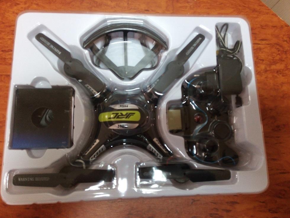 Отличный квадрокоптер менее 60$ или обзор JJRC H8C - 4