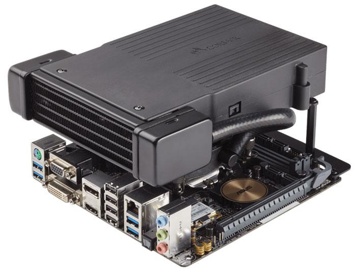 Система жидкостного охлаждения процессора Corsair Hydro Series H5 SF стоит $80