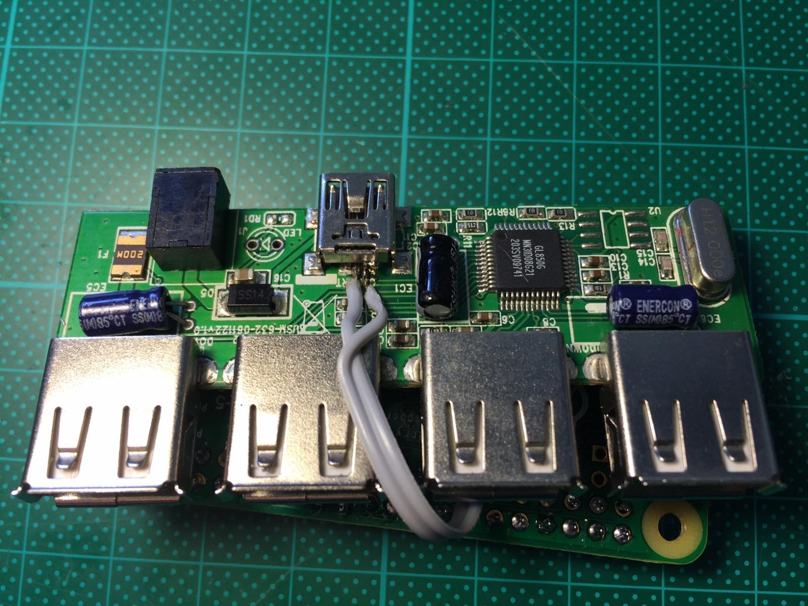 4 дополнительных USB порта для Raspberry Pi Zero? Не проблема - 5