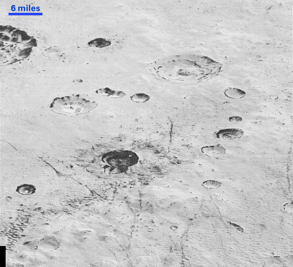New Horizons прислал самые детализированные фотографии поверхности Плутона - 3