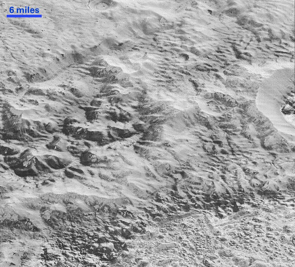 New Horizons прислал самые детализированные фотографии поверхности Плутона - 4