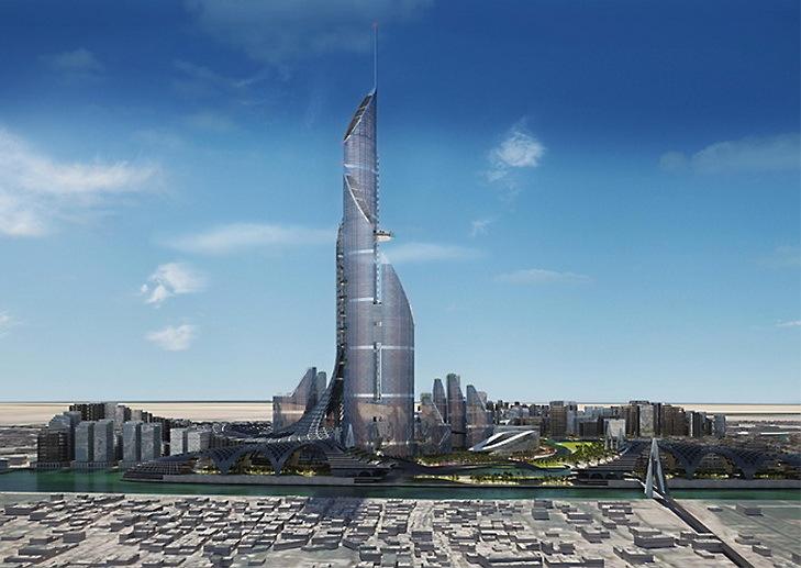 Компания AMBS планирует построить самое высокое здание в мире, полностью обеспечивающее свои энергетические потребности - 2
