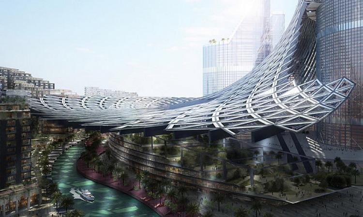 Компания AMBS планирует построить самое высокое здание в мире, полностью обеспечивающее свои энергетические потребности - 6