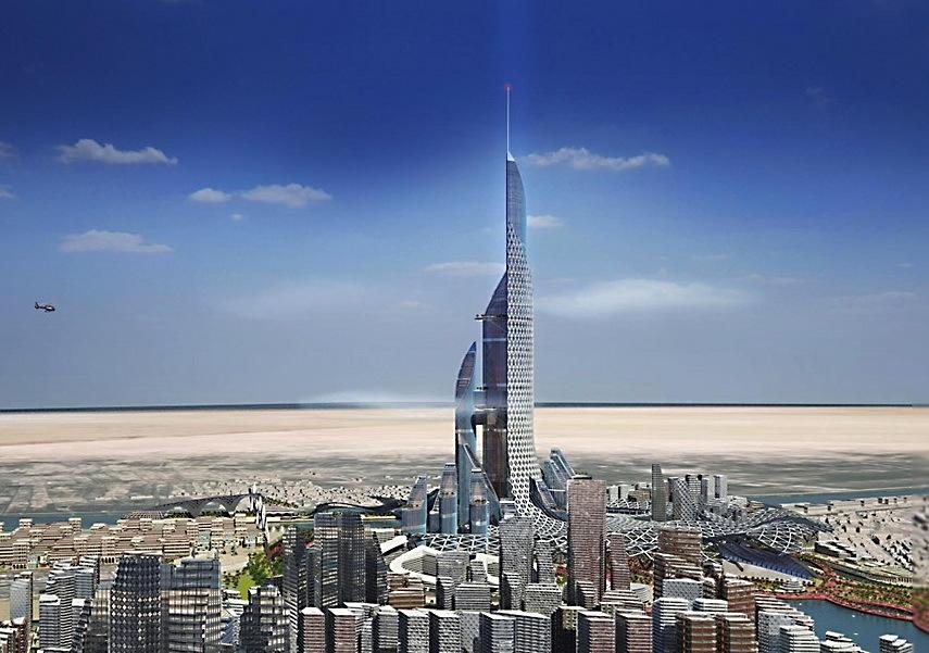 Компания AMBS планирует построить самое высокое здание в мире, полностью обеспечивающее свои энергетические потребности - 1