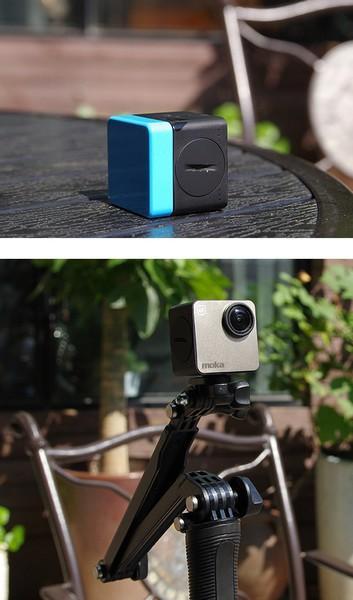 Камера Mokacam позволяет подключить экран и дополнительную АКБ