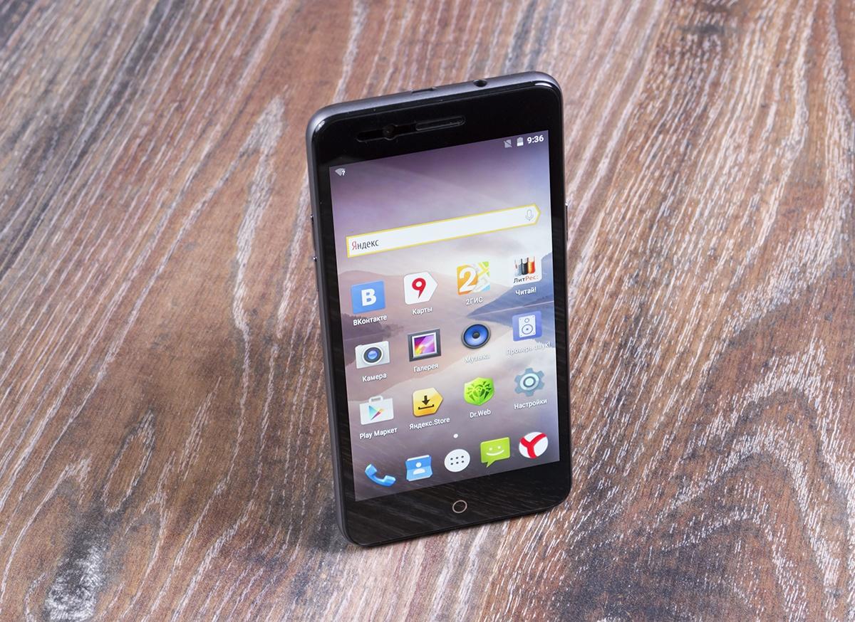 Музыка со знаком качества: обзор смартфона DEXP Ixion M350 Rock - 9
