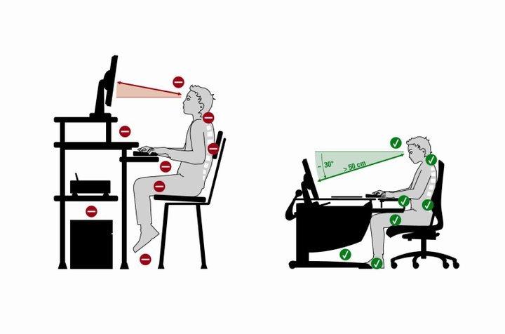Организация рабочего места с позиции здоровья спины (и не только) - 1