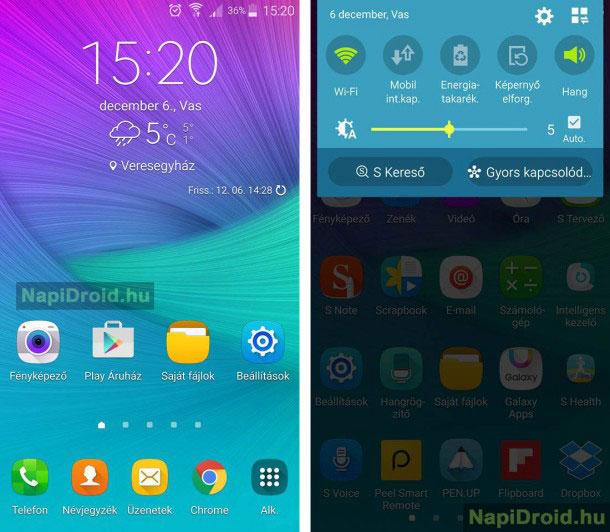Смартфоны Samsung Galaxy Note 4 начали получать обновление Android 6.0 раньше срока