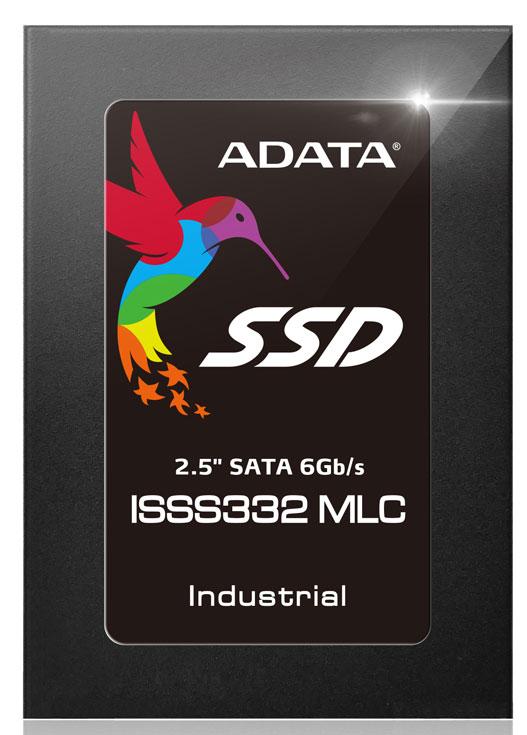 Накопители Adata ISSS332 доступны в вариантах с флэш-памятью типа SLC и MLC NAND