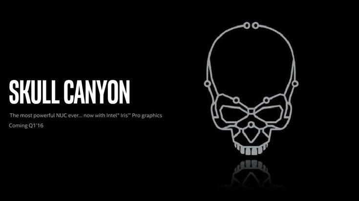 Технические данные мини-ПК Skull Canyon пока неизвестны