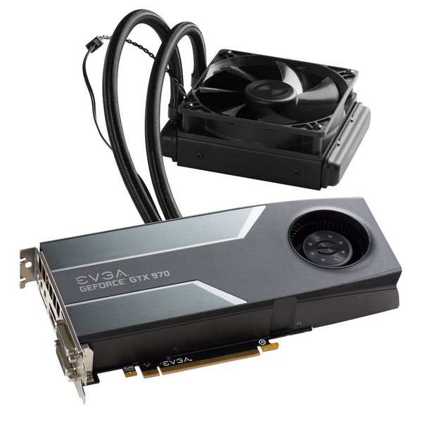 EVGA представила карту GTX 970 Hybrid Gaming