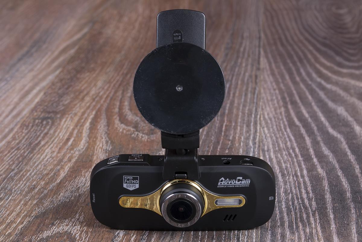 AdvoCam-FD8 Gold GPS – видеорегистратор премиум-класса - 1