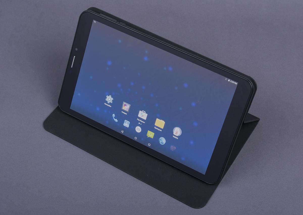 bb-mobile Techno Mozg 8.0: 8-дюймовый планшет с процессором Intel® Atom™ X3-C3230RK и ОС Android 5.1 Lollipop - 4
