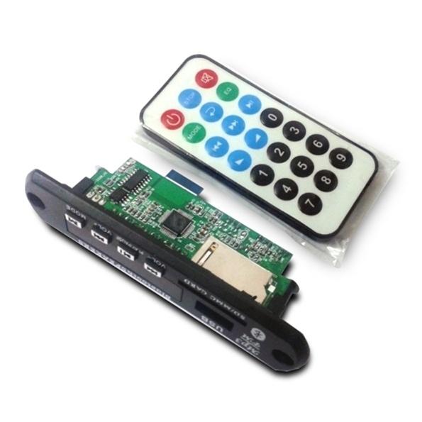 Коммутация внешнего усилителя мощности с помощью медиаплеера MP2898BT - 1