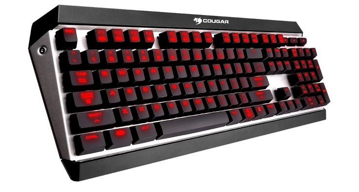 Cougar представила клавиатуру Attack X3