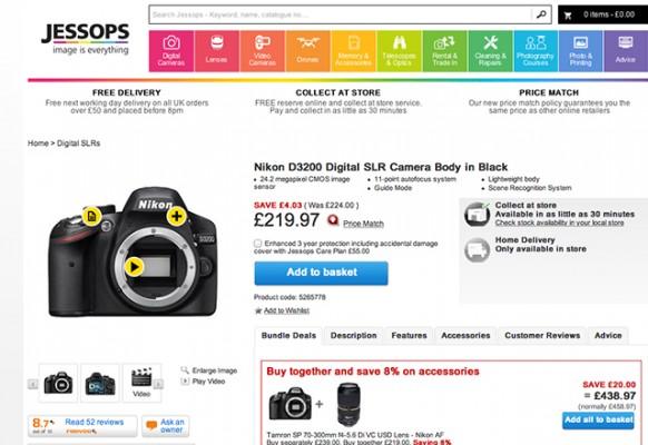 Зеркальные камеры продаются заметно лучше беззеркальных, по крайней мере, в Великобритании