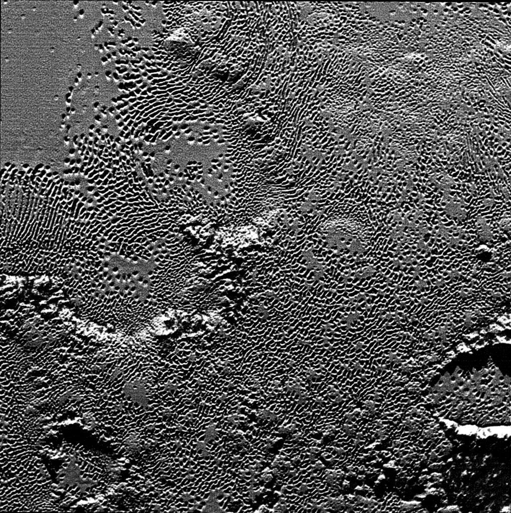 NASA выложило цветной снимок Плутона - 2
