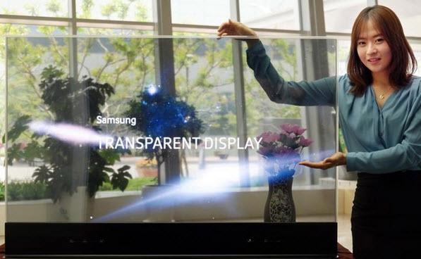 Samsung приступит к массовому производству прозрачных панелей OLED в декабре