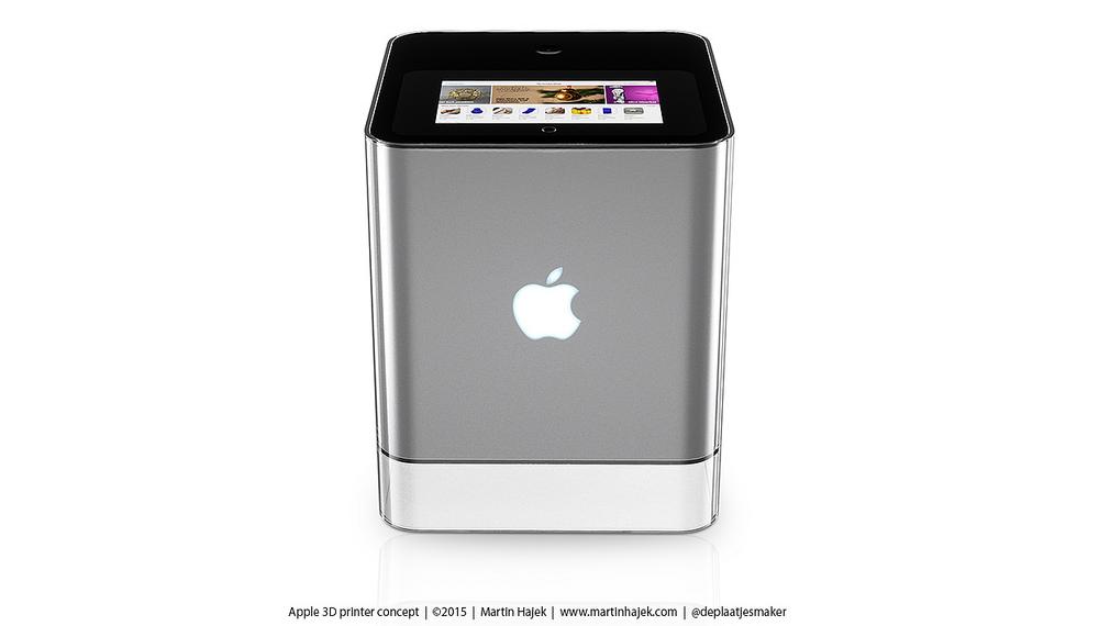 Как может выглядеть 3D-принтер от Apple? Представлена возможная дизайн-концепция - 2