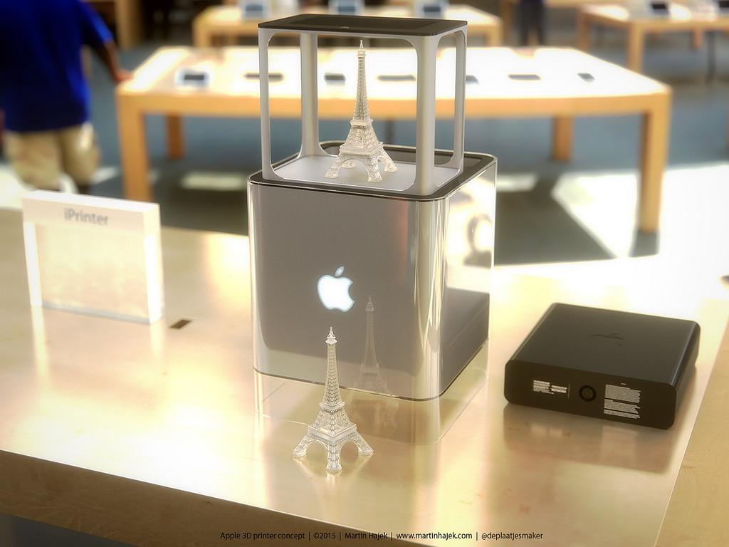 Как может выглядеть 3D-принтер от Apple? Представлена возможная дизайн-концепция - 3