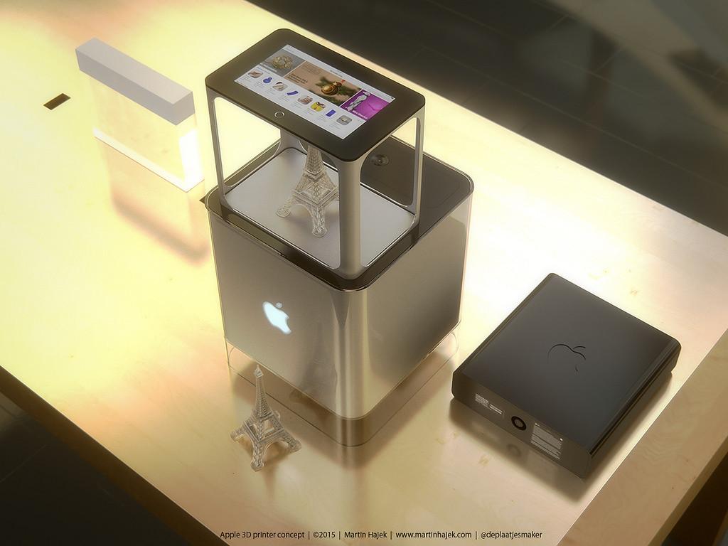 Как может выглядеть 3D-принтер от Apple? Представлена возможная дизайн-концепция - 4